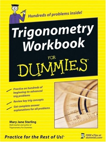 Trigonometry Workbook for Dummies   2005 edition cover