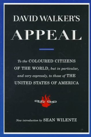 David Walker's Appeal   1995 (Revised) edition cover