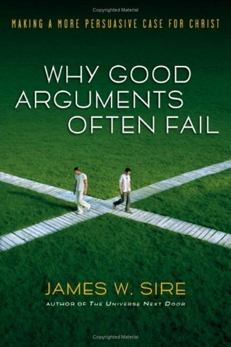 Why Good Arguments Often Fail Making a More Persuasive Case for Christ  2006 edition cover
