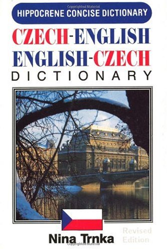 Concise Czech-English, English-Czech Dictionary  3rd (Revised) 9780870529818 Front Cover