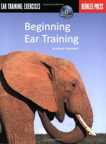 Beginning Ear Training Ear Training: Exercises  2007 edition cover