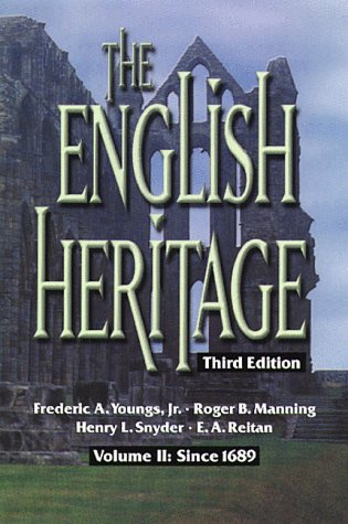 English Heritage Volume II: Since 1689 3rd 1988 edition cover