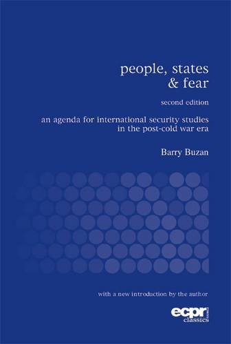 People, States and Fear An Agenda for International Security Studies in the Post-Cold War Era 2nd 2007 9780955248818 Front Cover