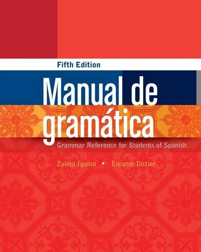 Manual de Gram�tica  5th 2013 edition cover