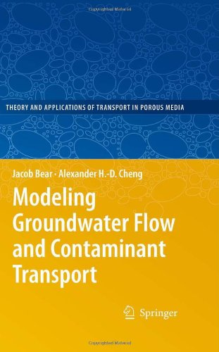Modeling Groundwater Flow and Contaminant Transport   2010 9781402066818 Front Cover