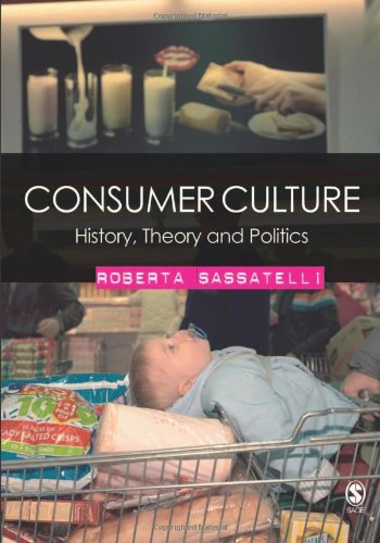Consumer Culture History, Theory and Politics  2007 edition cover