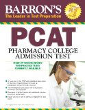 Barron's P. C. A. T. Pharmacy College Admission Test 6th 2014 (Revised) edition cover