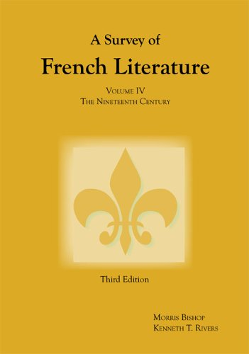 Survey of French Literature The Nineteenth Century 3rd 2005 edition cover
