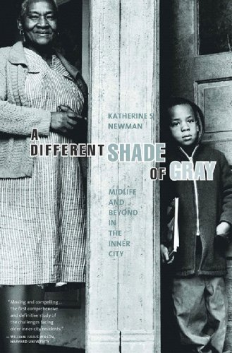 Different Shade of Gray Midlife and Beyond in the Inner City  2006 edition cover