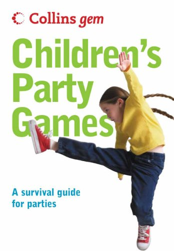 Children's Party Games (Collins GEM) N/A edition cover