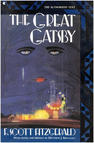 Great Gatsby The New Fully Authorized Text  1992 edition cover