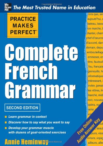 Complete French Grammar  2nd 2012 edition cover