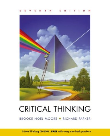 Critical Thinking 7th 2004 edition cover