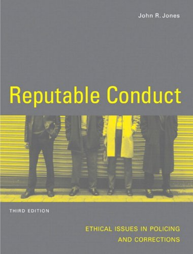 REPUTABLE CONDUCT >CANADIAN< 3rd 2005 edition cover