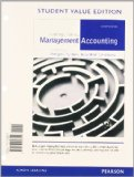 Introduction to Management Accounting, Student Value Edition  16th 2014 edition cover