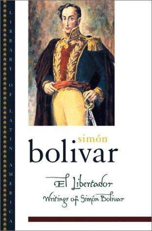 Libertador Writings of Sim�n Bol�var  2003 edition cover