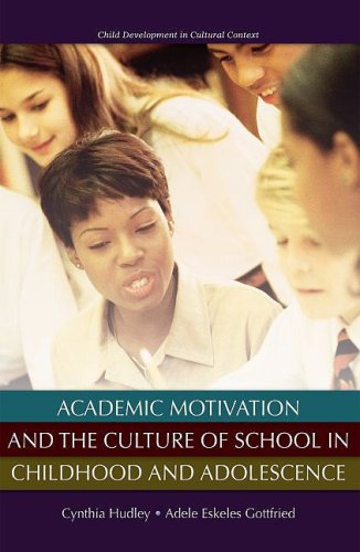 Academic Motivation and the Culture of Schooling   2008 9780195326819 Front Cover