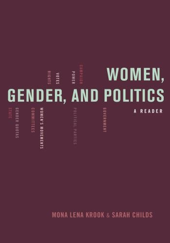 Women, Gender, and Politics A Reader  2010 edition cover
