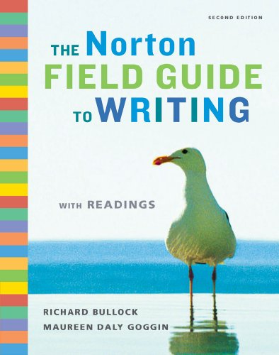 Norton Field Guide to Writing with Readings  2nd 2009 edition cover