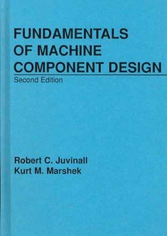 Fundamentals of Machine Design  2nd 1991 edition cover