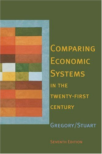Comparing Economic Systems in the Twenty-First Century  7th 2004 edition cover