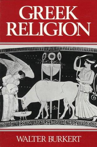 Greek Religion   1985 edition cover