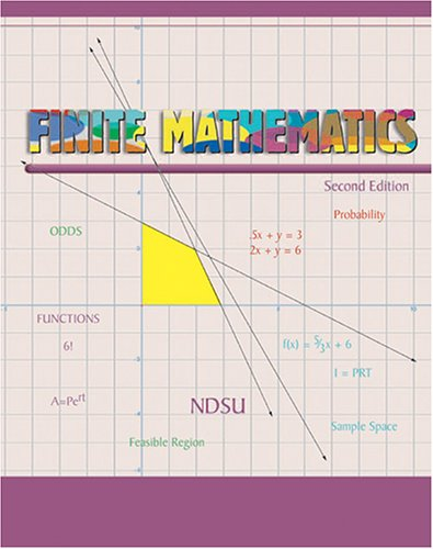 Finite Mathematics 2nd (Revised) 9780757519819 Front Cover