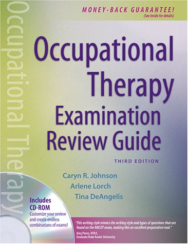 Occupational Therapy Examination Review Guide 3rd 2006 (Revised) edition cover
