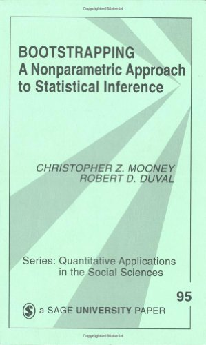Bootstrapping A Nonparametric Approach to Statistical Inference  1993 edition cover