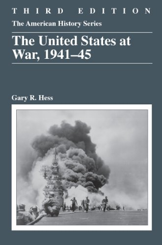 United States at War, 1941-45  3rd 2011 edition cover