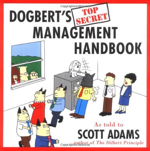 Dogbert's Top Secret Management Handbook  N/A edition cover