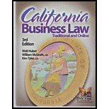 California Business Law  3rd edition cover