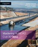 Mastering AutoCAD Civil 3D 2014   2013 edition cover