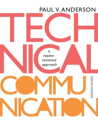 Technical Communication  8th 2014 9781133309819 Front Cover