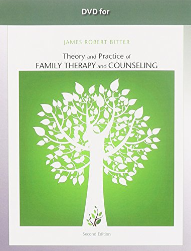 Bitter's Theory and Practice of Family Therapy and Counseling:   2013 edition cover