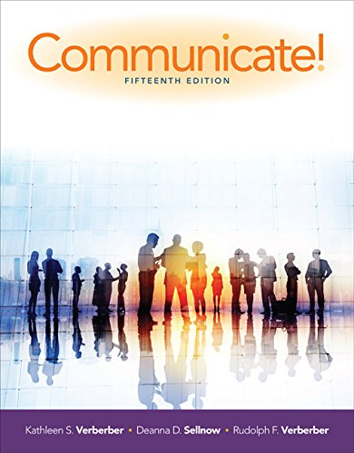 Communicate! 15th 2016 9781305502819 Front Cover