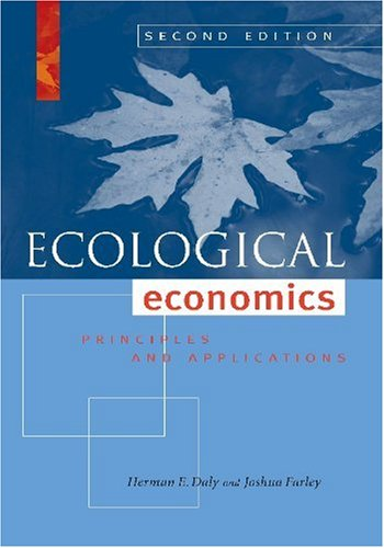 Ecological Economics Principles and Applications 2nd 2010 edition cover