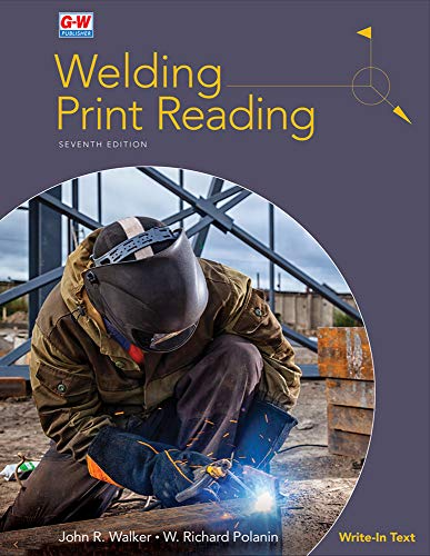 Welding Print Reading  7th 2020 9781635636819 Front Cover