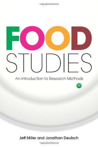 Food Studies An Introduction to Research Methods  2009 edition cover