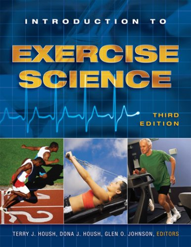 Introduction to Exercise Science 3rd 2008 edition cover
