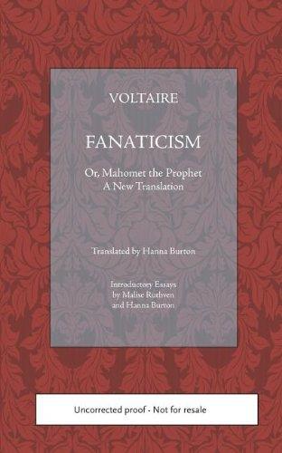 Fanatisme, Ou Mahomet le Prophete  N/A edition cover