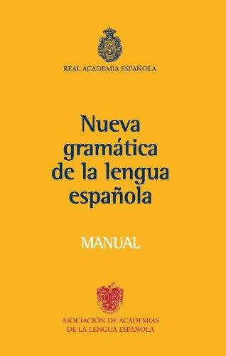 Nueva Gramatica Lengua Espa�ola   2010 edition cover