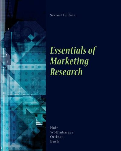 Essentials of Marketing Research  2nd 2010 edition cover
