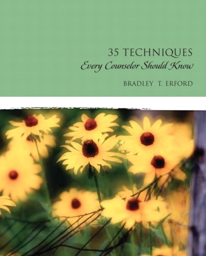 Thirty-Five Techniques Every Counselor Should Know   2010 edition cover