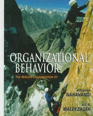 Organizational Behavior The Person-Organization Fit 1st 1999 9780132859820 Front Cover