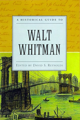 Historical Guide to Walt Whitman   2000 9780195120820 Front Cover