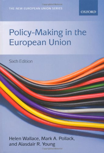 Policy-Making in the European Union  6th 2010 edition cover
