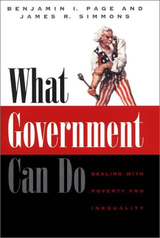 What Government Can Do Dealing with Poverty and Inequality  2002 edition cover