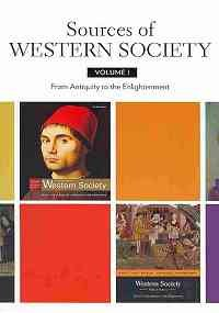 Western Society Brief V1 and Documents to Accompany A History of Western Society V1   2010 edition cover
