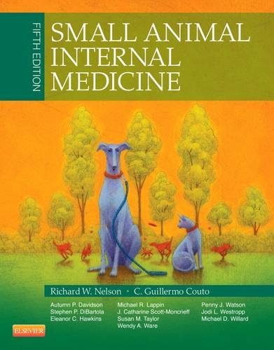 Small Animal Internal Medicine  5th 2014 9780323086820 Front Cover